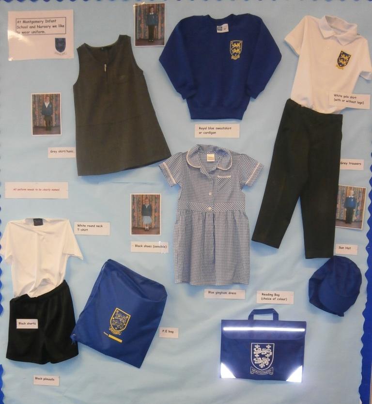 Uniform Montgomery Infant School And Nursery